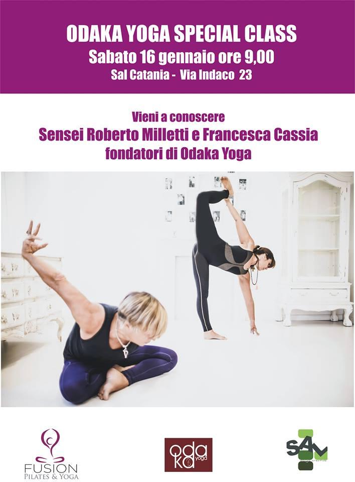 Roberto Milletti e Francesca Cassia a Catania