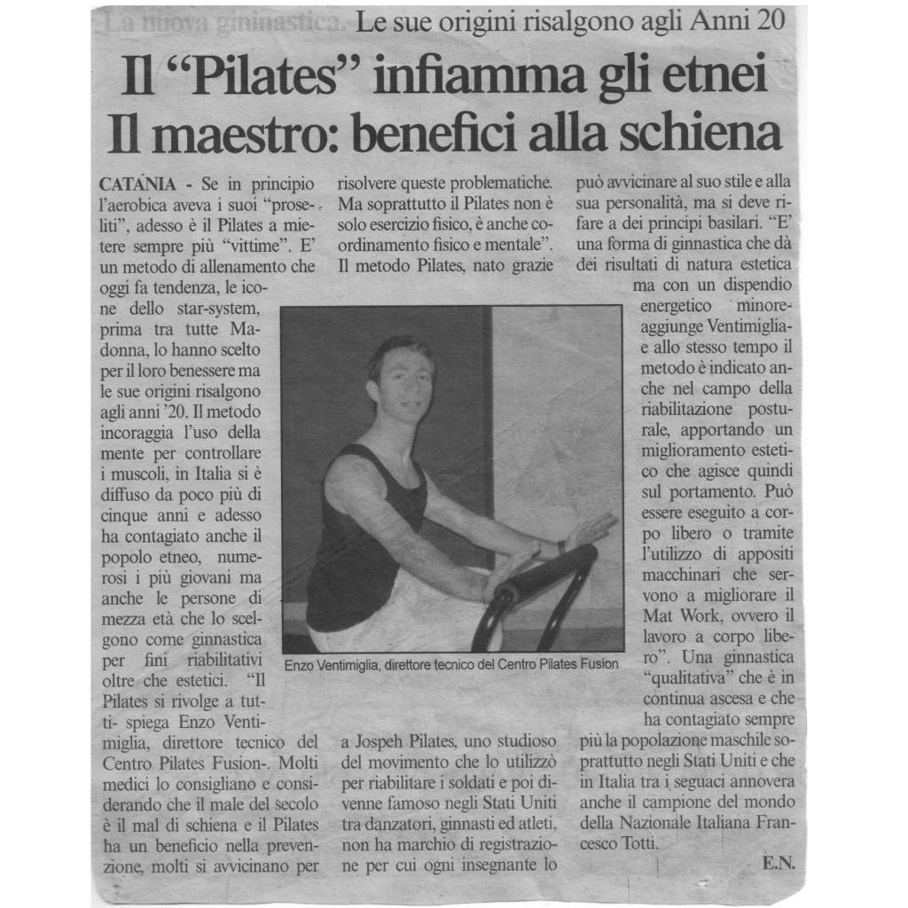 Sicilia Oggi - Pilates