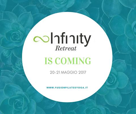 Arriva il 20 e 21 maggio l'Infinity retreat