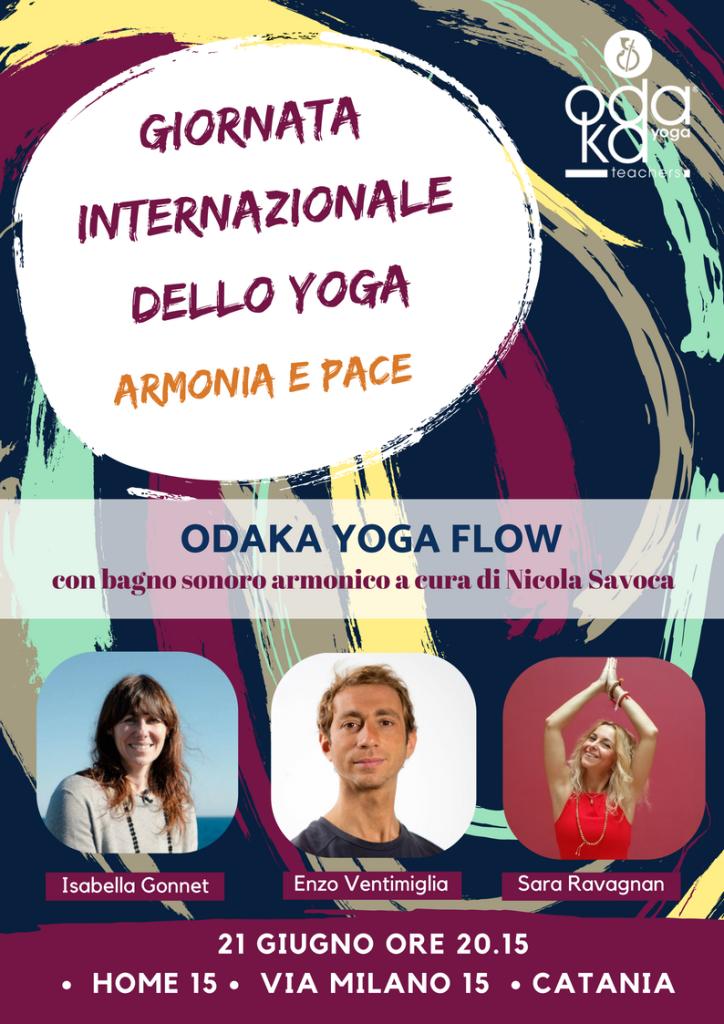 21 giugno Giornata mondiale dello Yoga