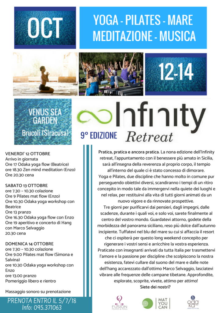 Infinity retreat 2018